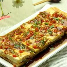 浇汁煎豆腐
