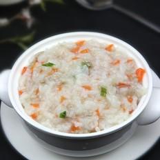 胡萝卜肉末粥