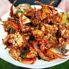 酱河蟹美食杰洋葱v河蟹卷心菜菜谱腊肉图片