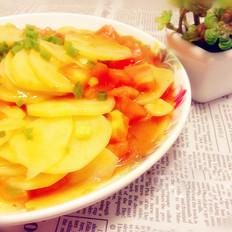 茄汁土豆片