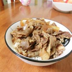 吉野家日式牛肉饭