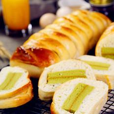抹茶蛋糕夹心面包