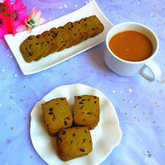 抹茶蔓越莓饼干#下午茶#