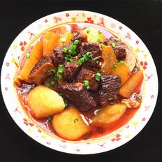 白萝卜烧牛腩#午餐#