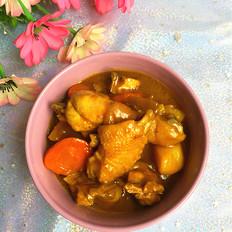 咖喱焖鸡块#午餐#