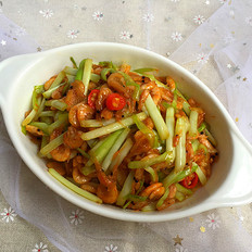 韭黄炒南极鳞虾