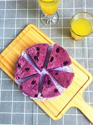紫薯发糕#早餐#的做法