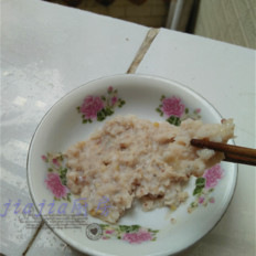清蒸魚泥餅