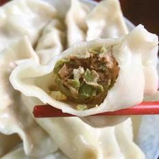 猪肉缸豆角饺子
