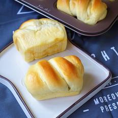 松软蜜豆小餐包 中种法