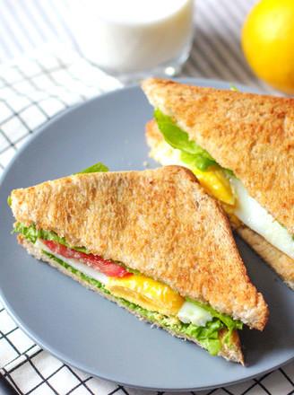 田园三明治的做法