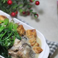 年夜饭必吃的菠菜煲鱼汤#晚餐#