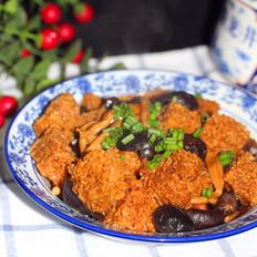四喜烤麸年夜冷菜