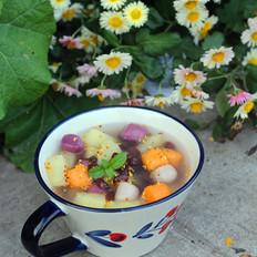 苹果芋圆甜汤