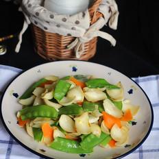 禾兰豆炒百合