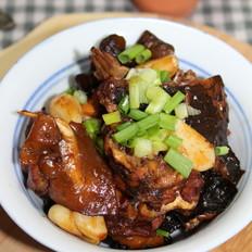红烧甲鱼鸡块煲