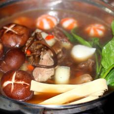 海叉烧豆芽鲜菇杰美食v叉烧微波炉菜谱肉做法图片