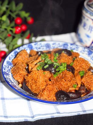 四喜烤麸年夜冷菜的做法