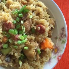 咖喱鸡焖饭
