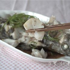 紫苏蒸鳜鱼