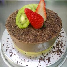 黑巧克力慕斯蛋糕