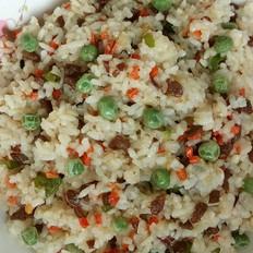 牛肉红萝卜尖椒炒米饭的做法大全