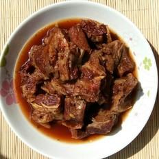 腐乳汁蚝油炖牛腩