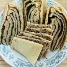 黑芝麻研杂粮蒸饼