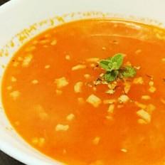 番茄薯粒浓汤