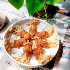 金针菇肥牛卷