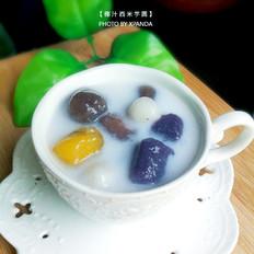 椰汁西米芋圆