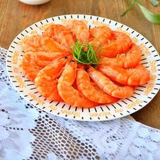 清蒸基围虾