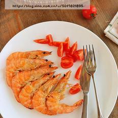 黑椒烤海虾