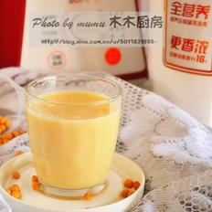 桂花蜜五谷豆浆