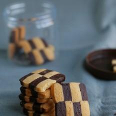荷式双色饼干