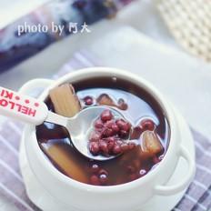 甘蔗红豆汤
