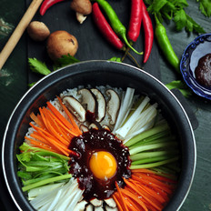 铁釜石锅拌饭