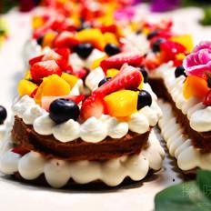 COUSS字母水果蛋糕