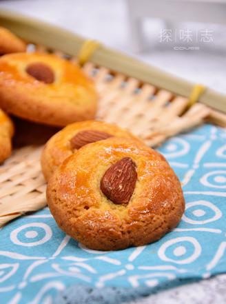 【杏仁酥】——冬季里的美食的做法