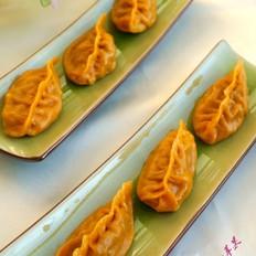 花式蒸饺之南瓜泥柳叶饺