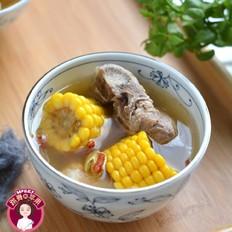 做法糯米汤美食杰面的v做法龙骨菜谱玉米图片