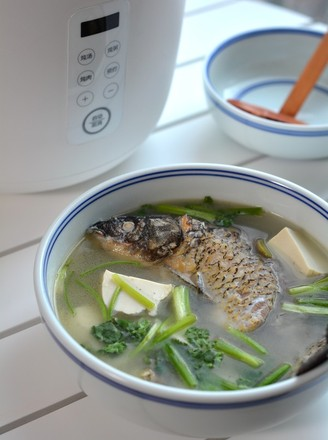 鯽魚豆腐湯的做法