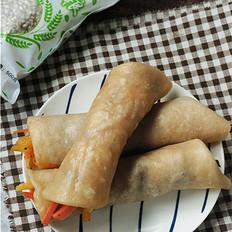 祛湿健脾薏米卷饼