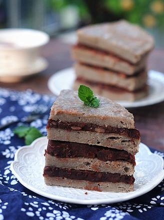 山药大米红豆糕的做法