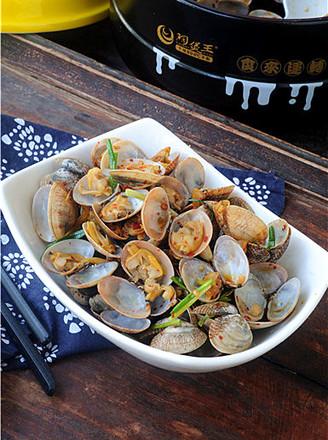 葱香蛤蜊的做法