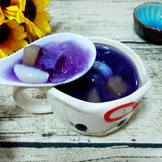 紫薯百合银耳羹