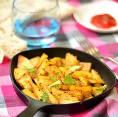 黑胡椒烤土豆