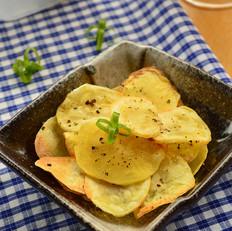 黑胡椒烤土豆片