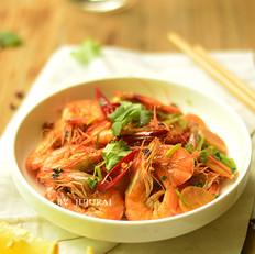 香辣基围虾