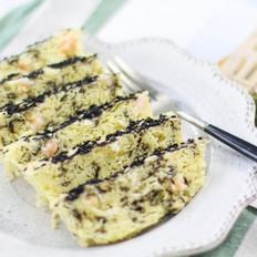 土豆海苔鲜虾米糕
